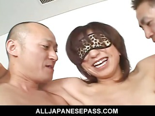 playgirl airi nakajima takes on palpitating rods