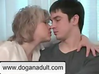 blonde mamma and not her son www.doganadult.com