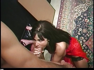brunette hair milf likes ass then gets anal