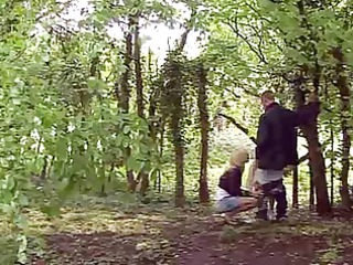 0 matures give hand-blowjob to a stranger in the