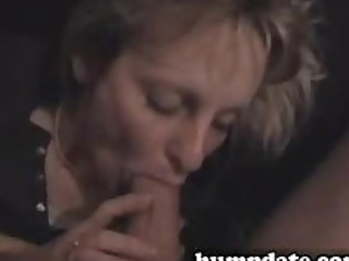 priceless brunette wife sucks big cock