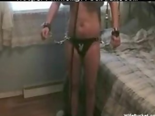 wife acquires tied up and drilled hard bdsm