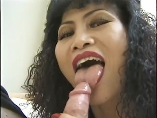 mature asian loves sucking that is knob