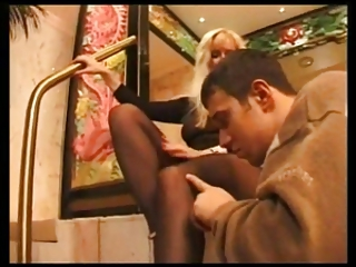 hot d like to fuck gives a footjob with darksome