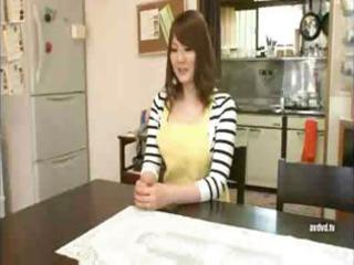 breasty japanese wife receives her melons