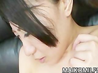 older jap sweetheart shizuka saeki receives her