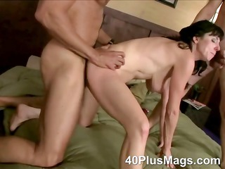 double fucked mature bitch