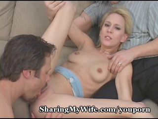 diminutive wifes pussy stretched by thick cock
