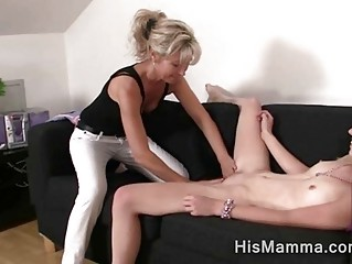 girlfriend receives seduced by aged lesbian who