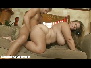 hot bbw milf gets bawdy cleft screwed by juvenile