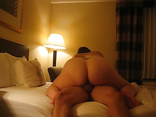 fat wife creamed by hubby