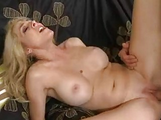 constricted ass pale blonde momma with giant