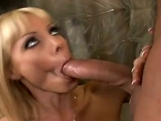 excited momma holly sampson slammed in the mouth