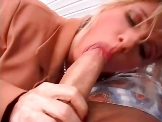 breasty blond mama and son visit the sex