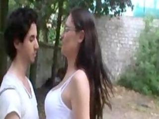 sophie french d like to fuck fucked in a garden