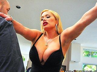 busty cheating wife shyla stylez is screwed anal