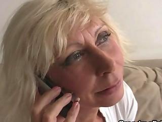 aged widow enjoys new schlongs