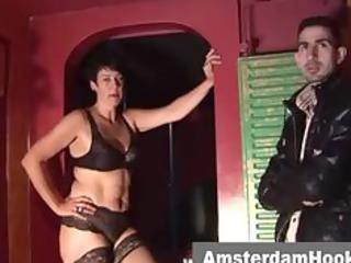 older dutch prostitute gives bj