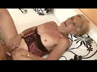 hairy blonde granny is a whore by troc