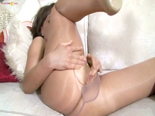 shiny pantyhose mother i