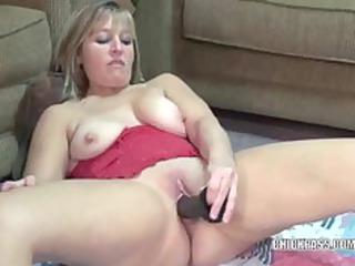 aged liisa bonks a large dark sex tool