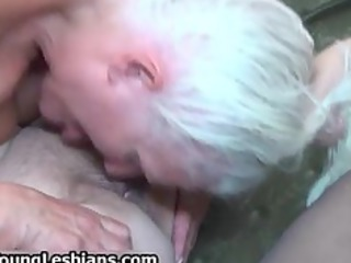 bizarre grandma having lesbian sex part5