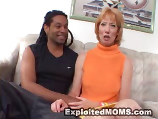 strawberry golden-haired mamma gets this dark
