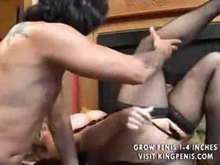 blonde corpulent milf acquire pecker in ass
