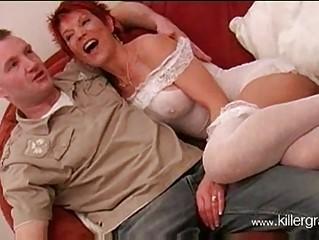 hawt aged brit redhead lynne warner banging