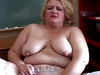 overweight mother i teacher has a nice little
