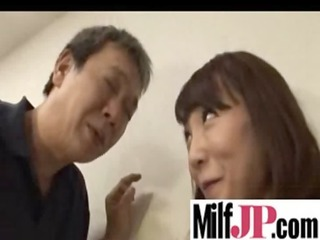 japanese milfs receives team-fucked indeed hard