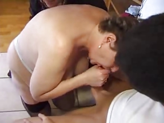 anal aged big beautiful woman cuckold
