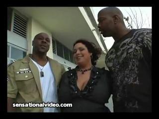 big tit latin chick wife copulates 3 big darksome