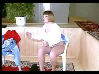 fat older german dilettante nerd receives naked