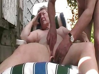 granny outdoor pleasure