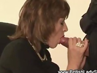 see older brit hottie acquire a cumshot