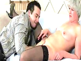 aged mother i in nylons acquires fu...