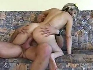 granddad gives creampie