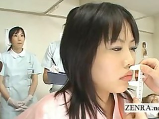 japan milf doctor uses marital-device with camera