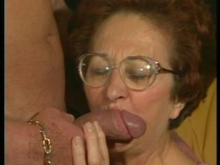 retro granny receives hot dicking from muscled