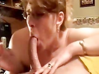 sensational deepthroat blowjob by aged