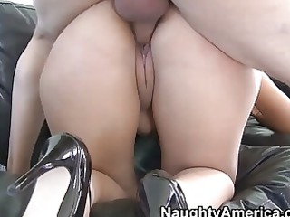 lusty and breasty latin babe wife gives