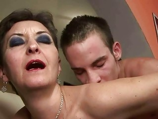 wicked granny fucking with a lad