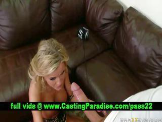 mckenzee milesstunning blond gagging massive cock