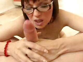 breasty milf with glasses becomes a