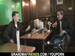 dudes bang absolutely drunk granny