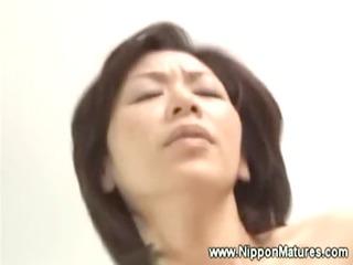 japanese milf gets shagged at hotel room