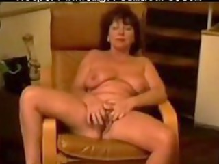 chair masturbation of french carla 97 years aged