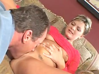 spouse watches feisty blonde wife take dong on a