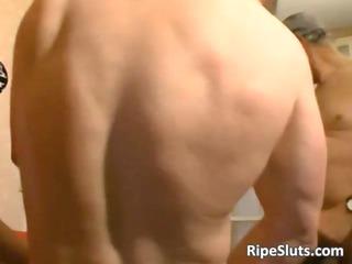amazing sex act with aged slut